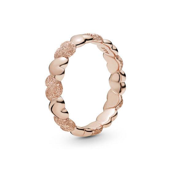 Pandora Rose™ Matte Brilliance Hearts Ring