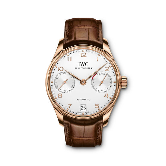 IWC Portugieser Automatic Watch 18K Rose Gold