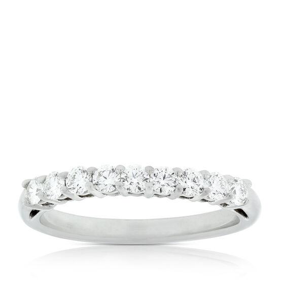Nine Diamond Ring in Platinum