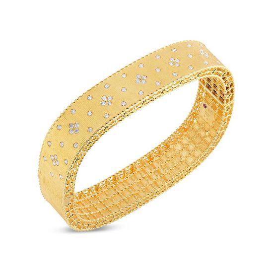 Roberto Coin Princess Diamond Bangle 18K