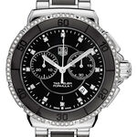 TAG Heuer Formula 1 Quartz Ladies Black Steel & Black Ceramic Chronograph Watch