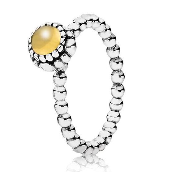PANDORA Birthday Blooms November Ring