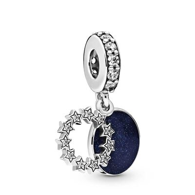 Pandora Inspirational Stars Enamel & CZ Dangle Charm