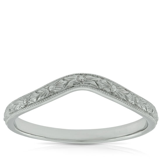 Hand Engraved Band 14k