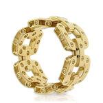 Roberto Coin Poi Moi Link Ring 18K