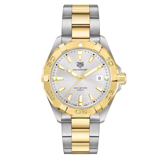 TAG Heuer Aquaracer Two Tone Watch 41mm