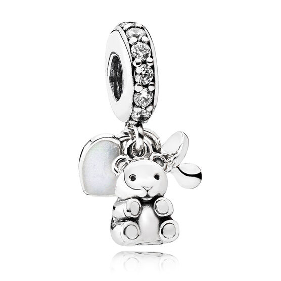 Pandora Baby Treasures CZ Dangle Charm