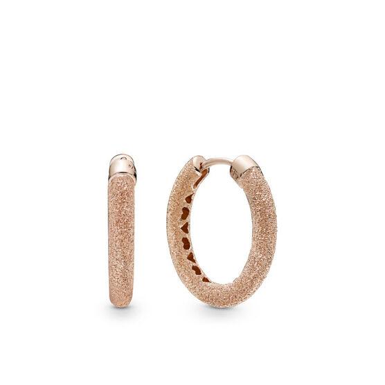 Pandora Rose™ Matte Brilliance Hoop Earrings