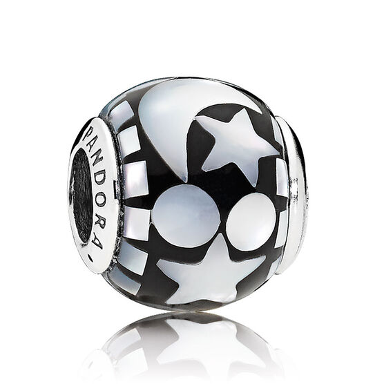 PANDORA Celestial Mosaic Mother of Pearl Charm