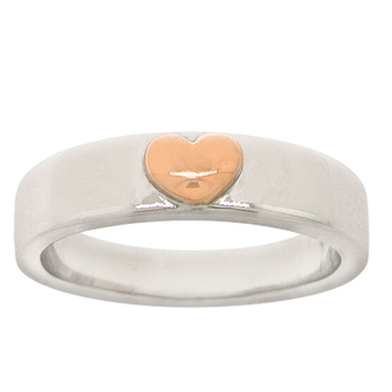 Heart Band in 14K