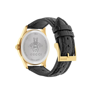 Gucci G-TIMELESS Signature Black Dial Watch