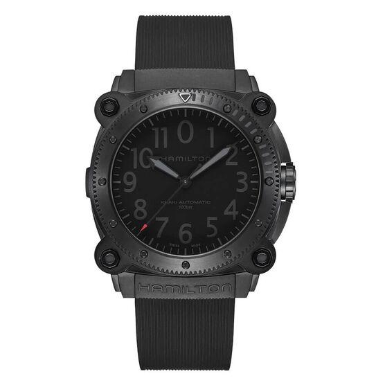 Hamilton Khaki Navy BeLOWZERO Limited Edition Red Detailed TENET Watch, 46mm