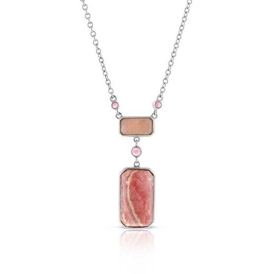 Lisa Bridge Rhodochrosite, Opal & Tourmaline Necklace