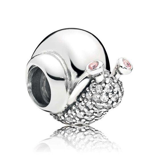 Pandora Sparkling Snail CZ Charm
