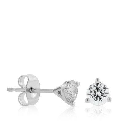 Signature Forevermark Diamond Earrings 18K, 1/2 ctw.