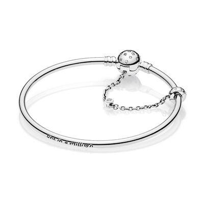 Pandora Limited Edition True Uniqueness CZ Bangle Bracelet