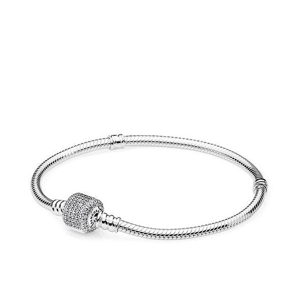 Pandora Signature Clasp Bracelet