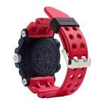 G-Shock Master of G Frogman Solar Bluetooth Red Strap Watch, 56.7mm