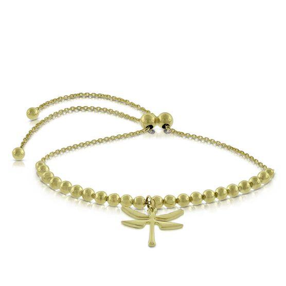 Bolo Dragonfly Bracelet 14K