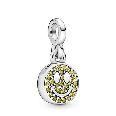 Pandora Me My Smile Crystal Dangle Charm