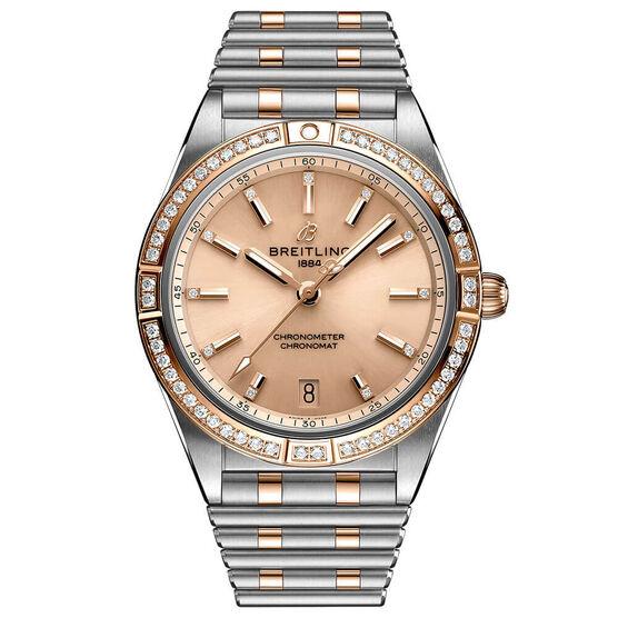 Breitling Chronomat Automatic 36 Diamond Watch, 18K & Steel