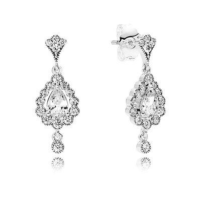 Pandora Heraldic Radiance Cz Earrings