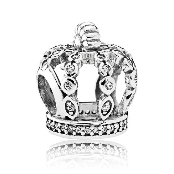 PANDORA Fairytale Crown CZ Charm