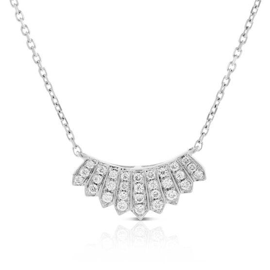 Diamond Mini Collar Necklace 14K