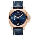 Panerai Luminor Marina Goldtech™ Sole Blu Watch, 44mm