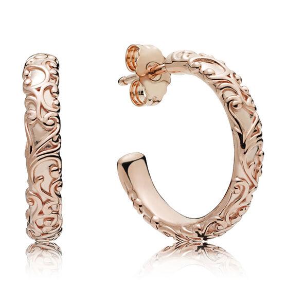 Pandora Rose™ Regal Beauty Hoop Earrings