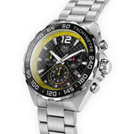 TAG Heuer Formula 1 Quartz Mens Black Steel Chronograph Watch