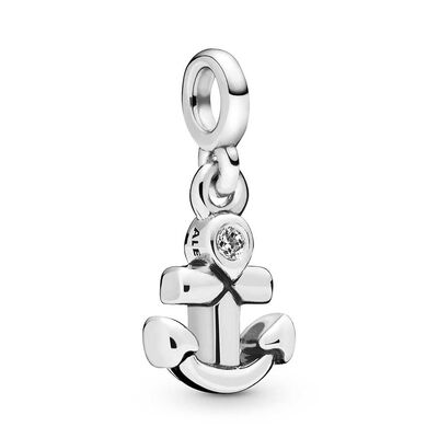 Pandora Me My Anchor CZ Dangle Charm