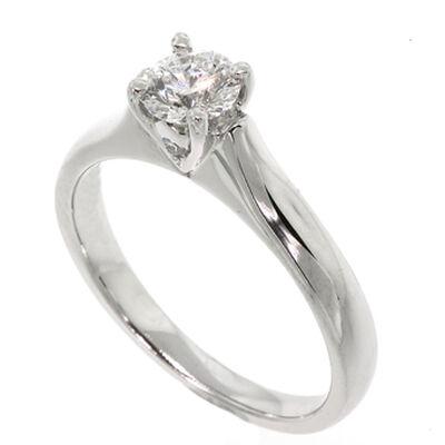 Ben Bridge Signature Diamond™ Ring in Platinum, 1/2 ct.