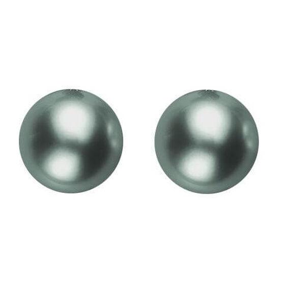 Mikimoto Black South Sea Cultured Pearl Earrings, 8mm, 18K