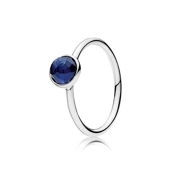 Pandora September Droplet Ring