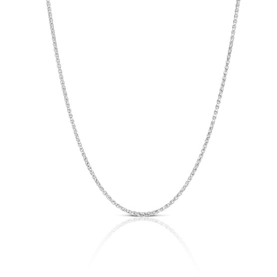 Round Wheat Chain in Silver, 20""