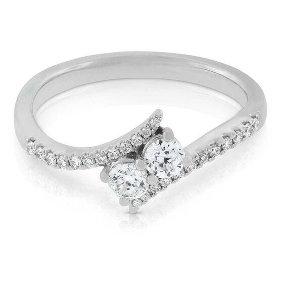 Signature Forevermark + Ever Us™ 2-Stone Diamond Ring 18K