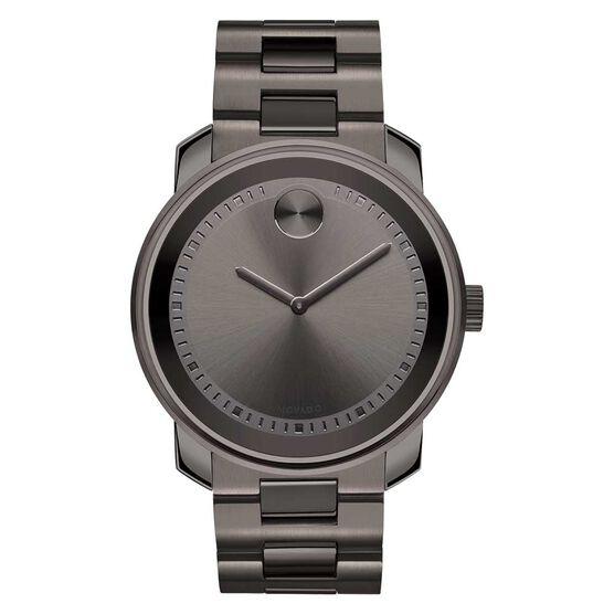 Movado Bold Grey Gunmetal Ion Watch