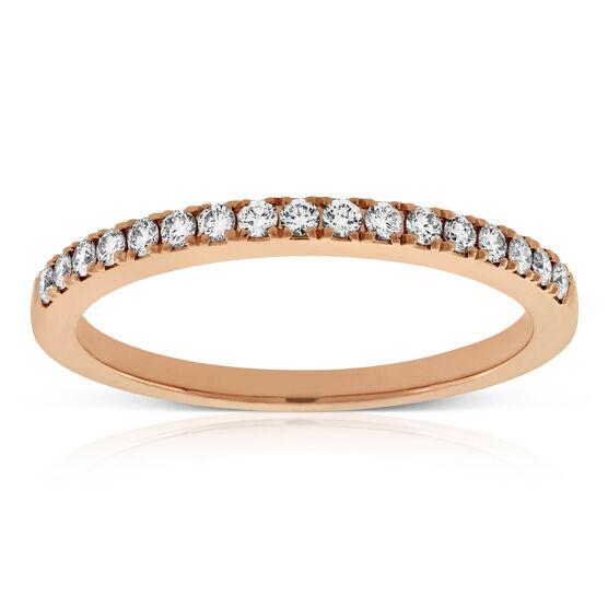 Forevermark Rose Gold Diamond Band 18K