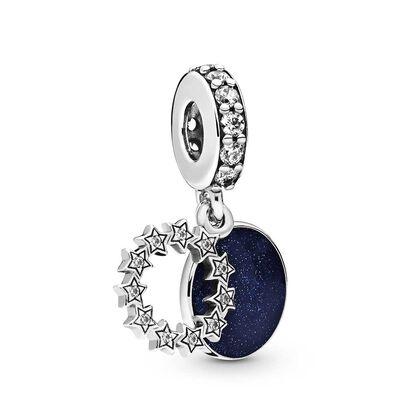 Pandora Inspirational Stars Enamel & CZ Dangle Charm