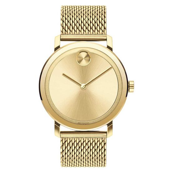 Movado Bold Yellow Ion Watch, 40mm