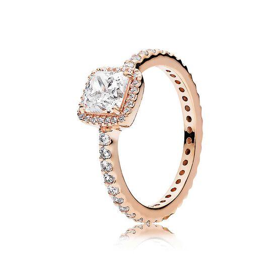 139b97f3e PANDORA Rose™ Timeless Elegance CZ Ring - 180947CZ | Ben Bridge Jeweler