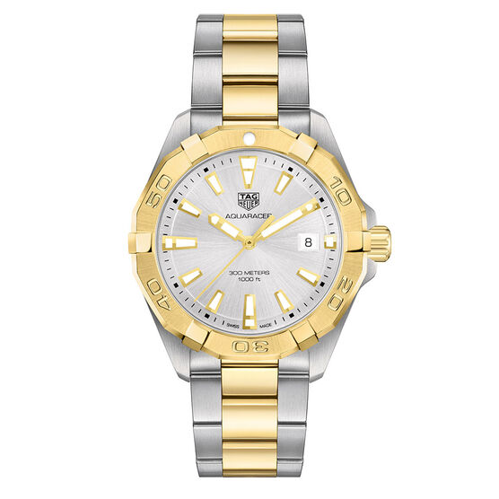 TAG Heuer Aquaracer Two Tone Watch, 41mm