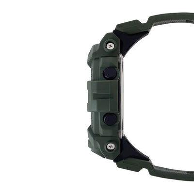 G-Shock G-Squad Green Strap Bluetooth Watch, 54.1mm