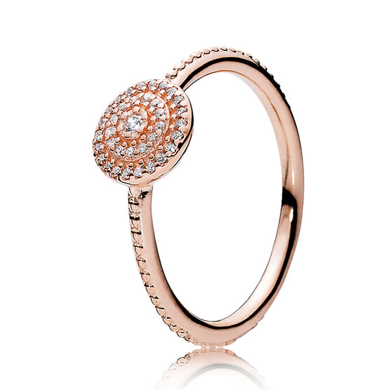 Pandora Rose™ Radiant Elegance CZ Ring