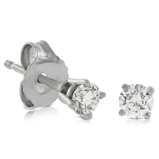 Classic Diamond Earrings 14K, 1/4 ctw.