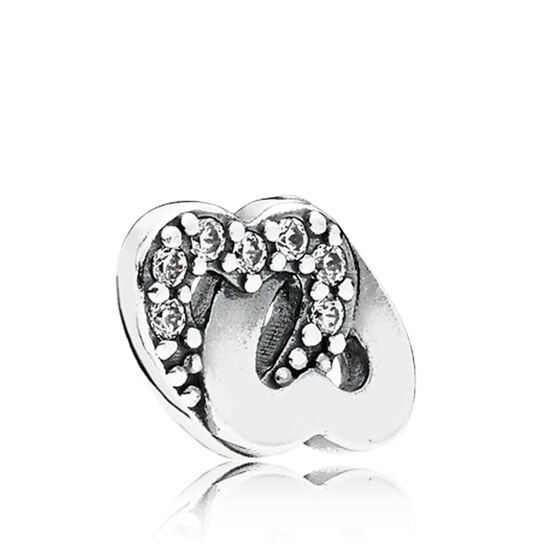 PANDORA Entwined Love CZ Petite Locket Charm