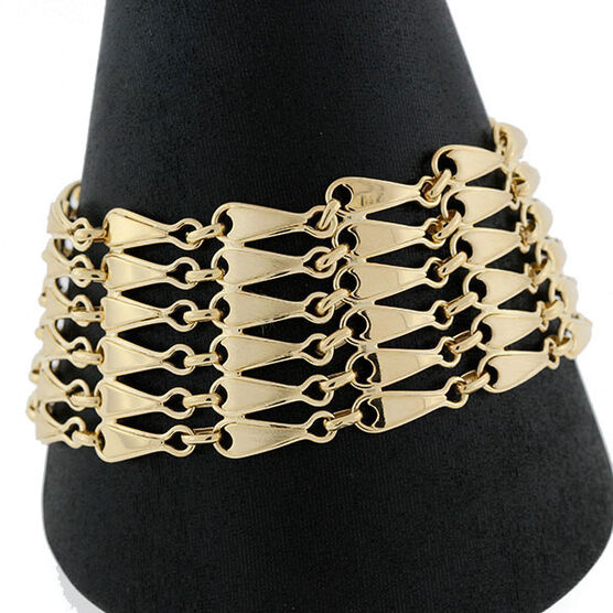 Toscano Multi Row Bracelet 14K
