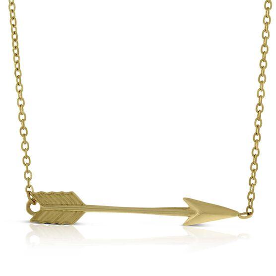 Arrow Necklace 14K