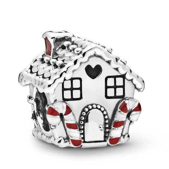Pandora Gingerbread House Enamel & CZ Charm